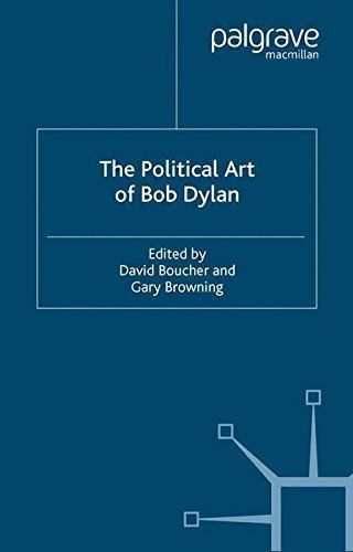 political art of Bob Dylan boucher browning paperback book