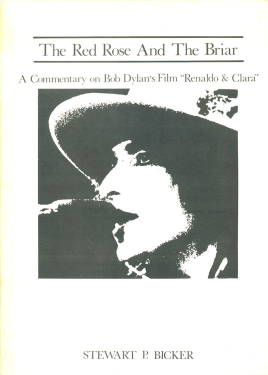 the red rose and the briarBob Dylan book