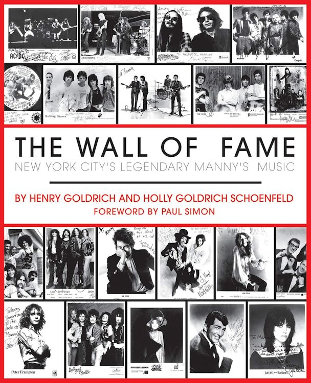 the wall of fame Bob Dylan book
