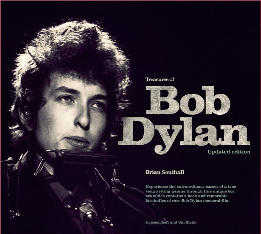 treasures of Bob Dylan updated book