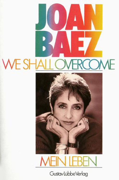 we shall overcome mein leben bob dylan book in German
