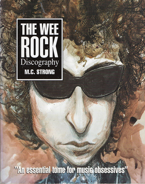 wee rock discography Bob Dylan book