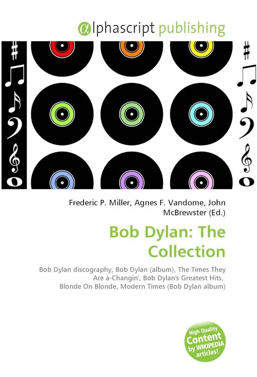 Bob Dylan Wikipedia print outs