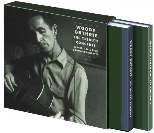 woody guthrie, the tribute concerts in slipcase