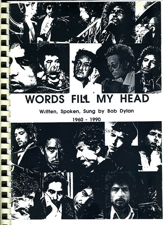 words feel my head Bob Dylan book