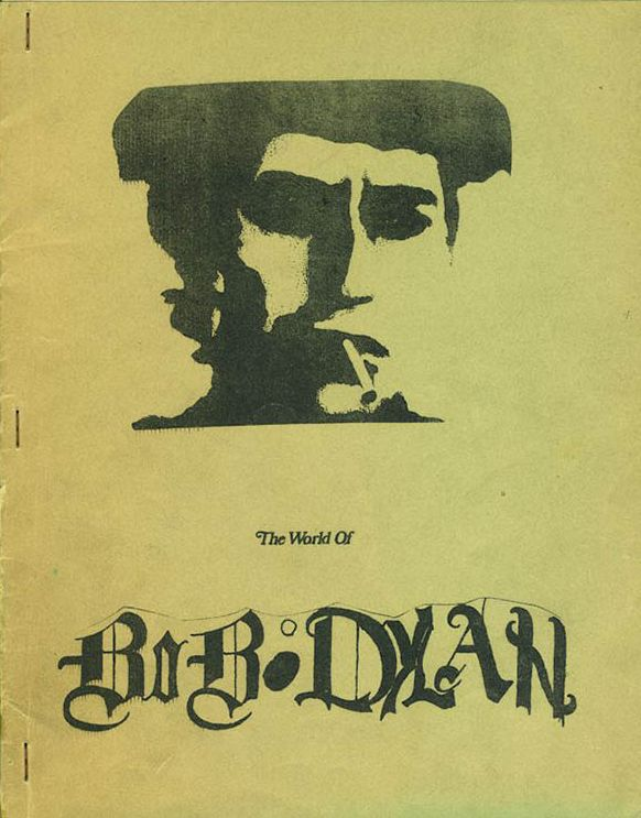 world of Bob Dylan book