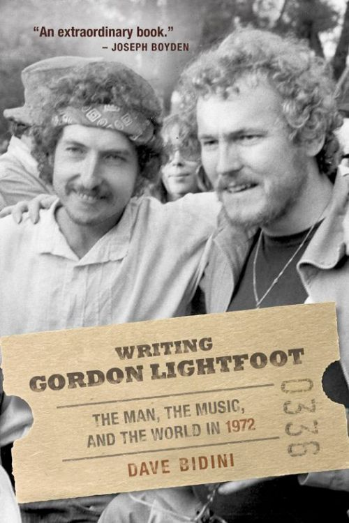 writing gordon lightfoot Bob Dylan book