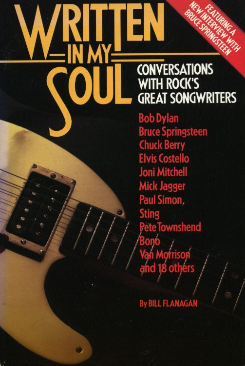 written in my soul Bob Dylan book 1987