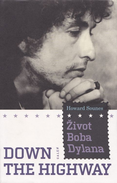 zivot boba dylana Dylan book in Czech