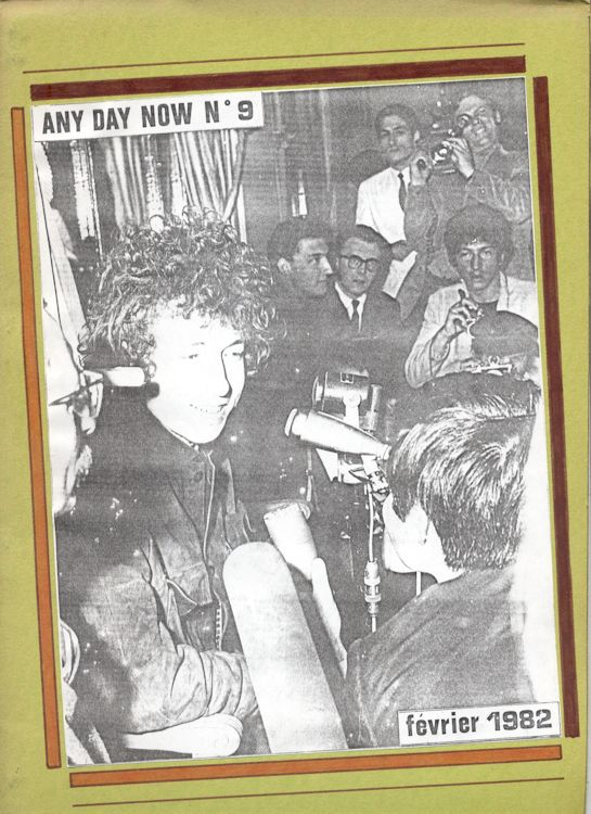 Any day now #09 alternate 2 Dylan Fanzine