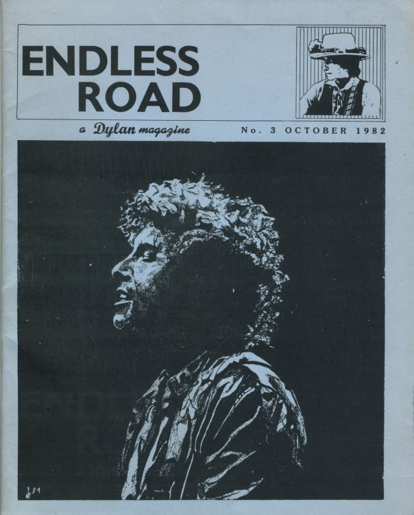 endless road #3, October 1982 bob Dylan Fanzine