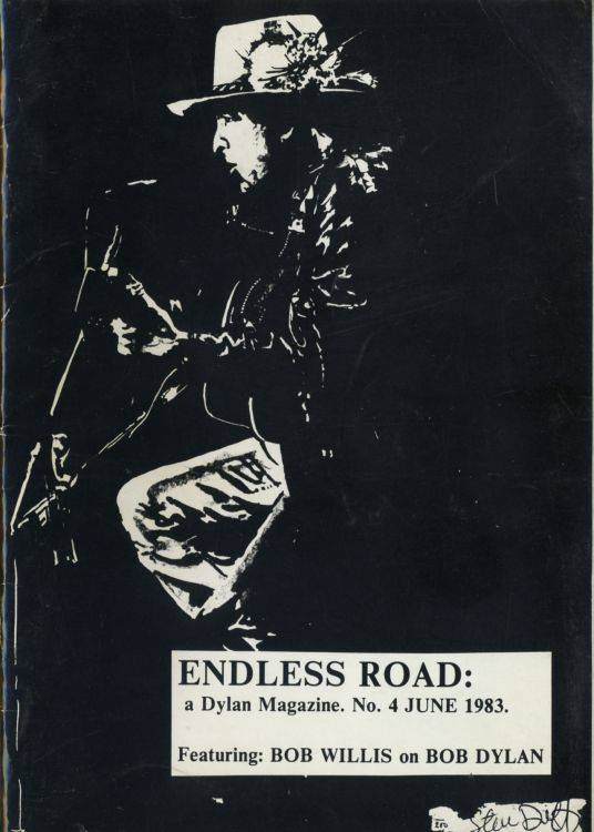 endless road #4, June 1983 bob Dylan Fanzine