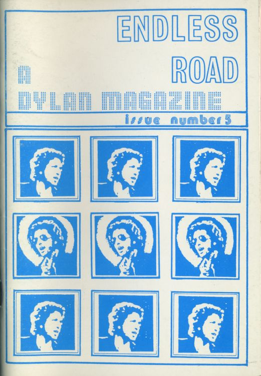 endless road #5 bob Dylan Fanzine