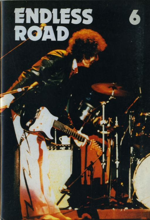 endless road #6 Bob Dylan Fanzine