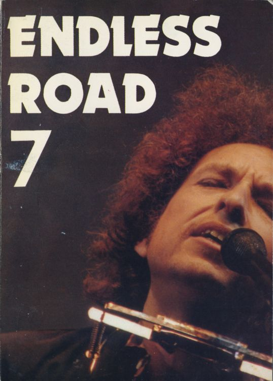 endless road #7 bob Dylan Fanzine