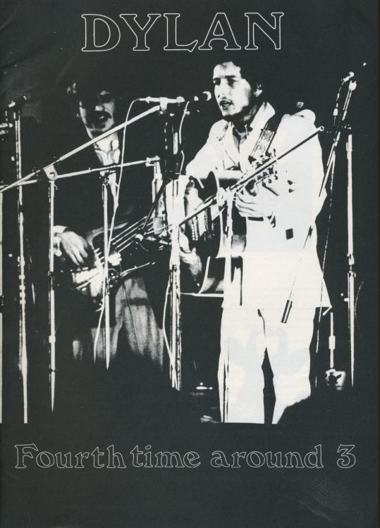 fourth time around #3 bob Dylan Fanzine