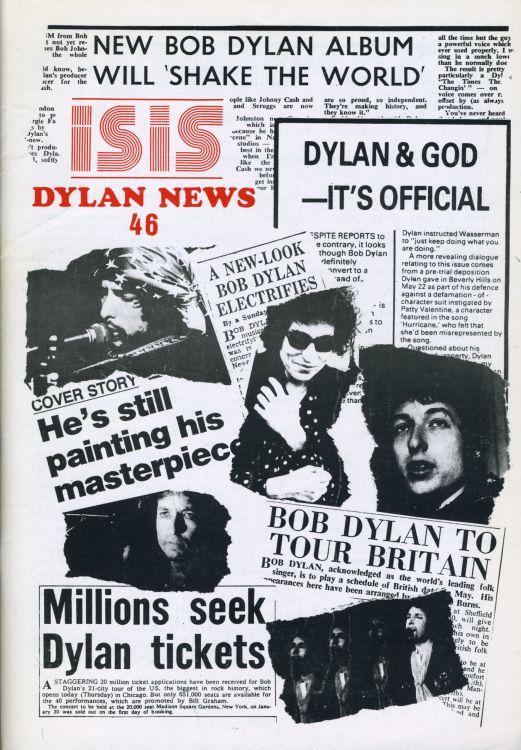 bob dylan news