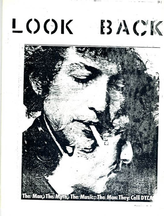 look back #1 bob Dylan Fanzine