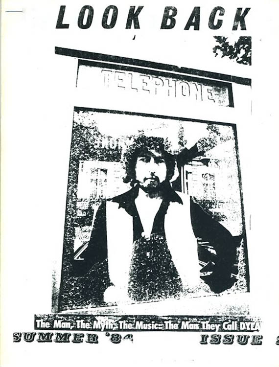 look back #2 bob Dylan Fanzine