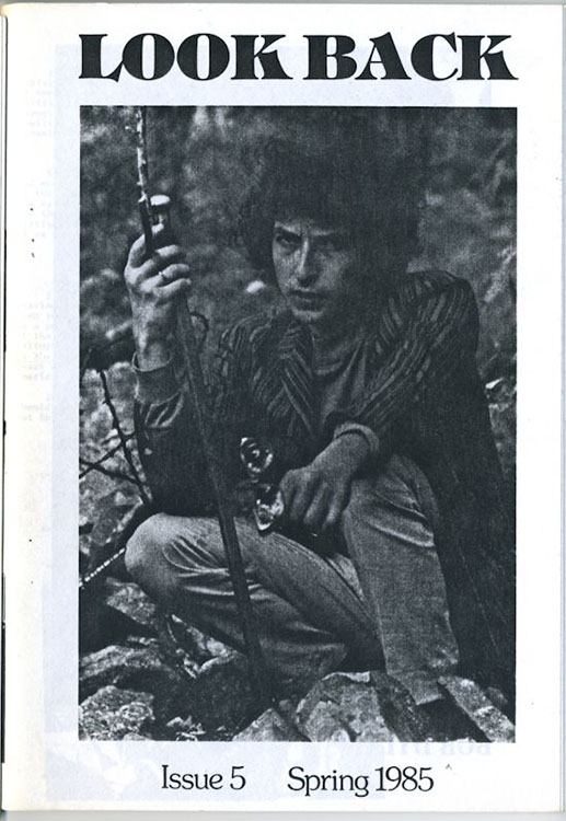 look back #5 bob Dylan Fanzine