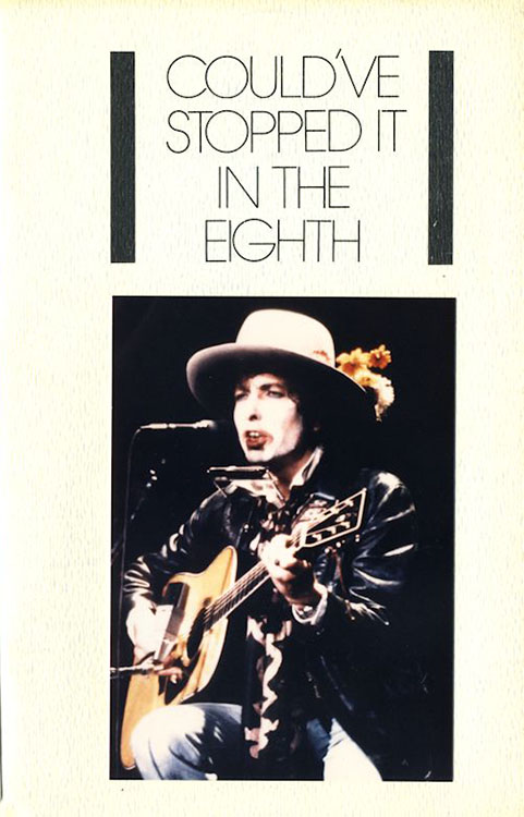 look back #8 bob Dylan Fanzine