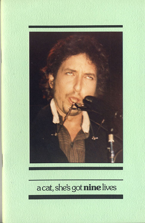 look back #9 bob Dylan Fanzine