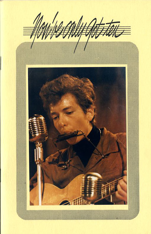 look back #10 bob Dylan Fanzine