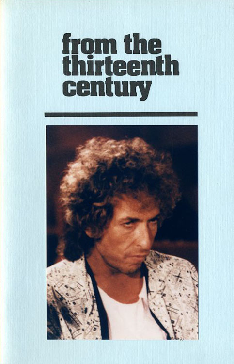 look back #13 bob Dylan Fanzine