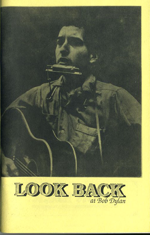 look back #18 bob Dylan Fanzine