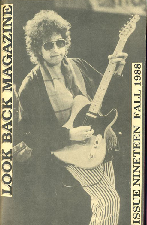 look back #19 bob Dylan Fanzine