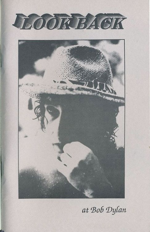 look back #23 bob Dylan Fanzine