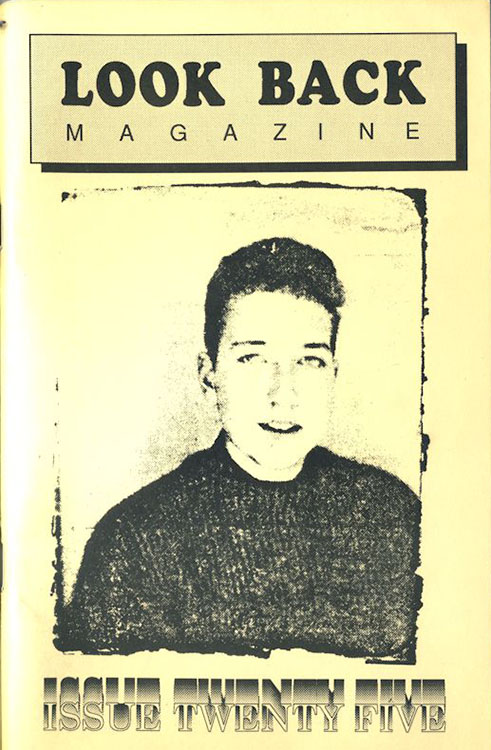 look back #25 bob Dylan Fanzine