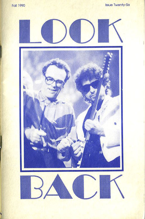 look back #26 bob Dylan Fanzine