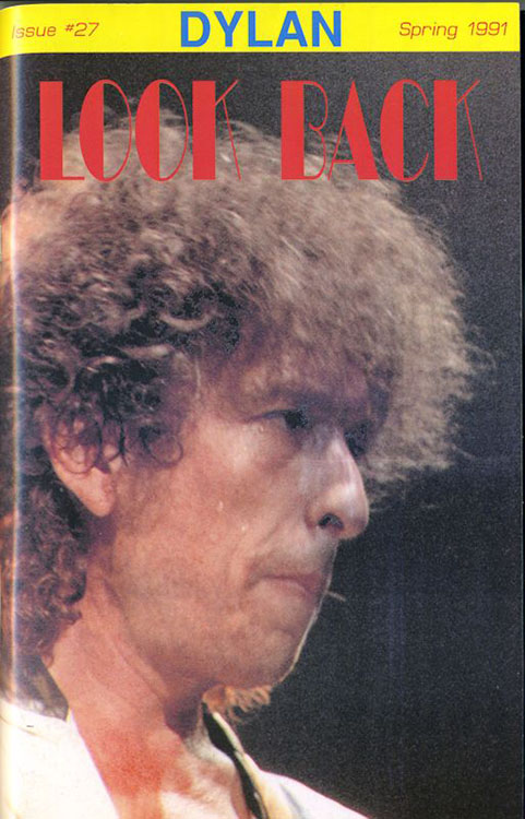 look back #27 bob Dylan Fanzine