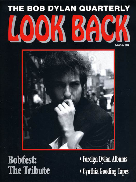 look back #31 bob Dylan Fanzine