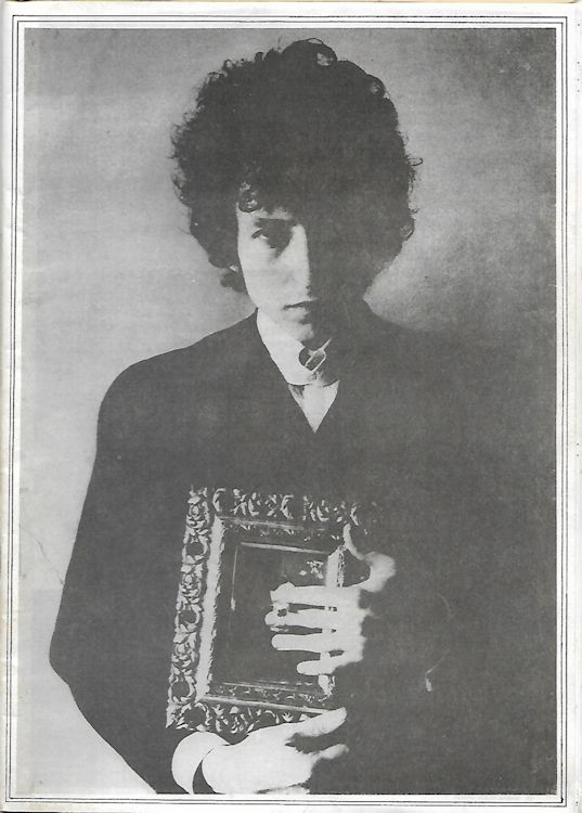 the rolling telegraph supplement #1 bob Dylan Fanzine