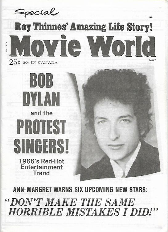 the rolling telegraph supplement #4 bob Dylan Fanzine