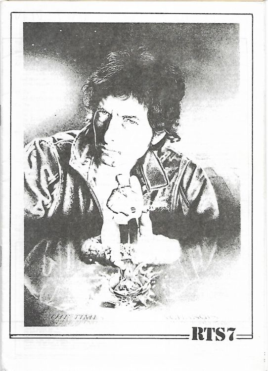 the rolling telegraph supplement #7 bob Dylan Fanzine