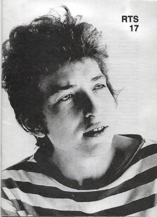 the rolling telegraph supplement #17 bob Dylan Fanzine