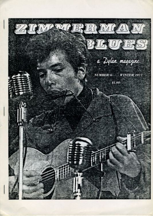 zimmerman blues 6 Dylan Fanzine