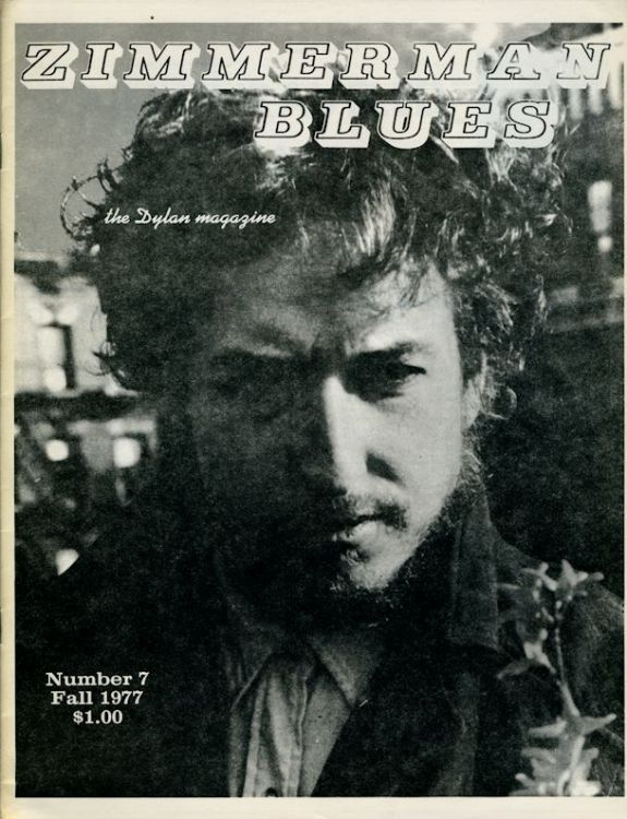 zimmerman blues 7 Dylan Fanzine