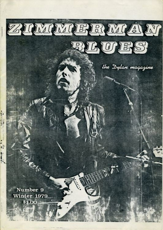zimmerman blues 9 Dylan Fanzine