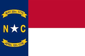 flag north carolina