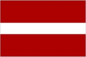 flag latvia