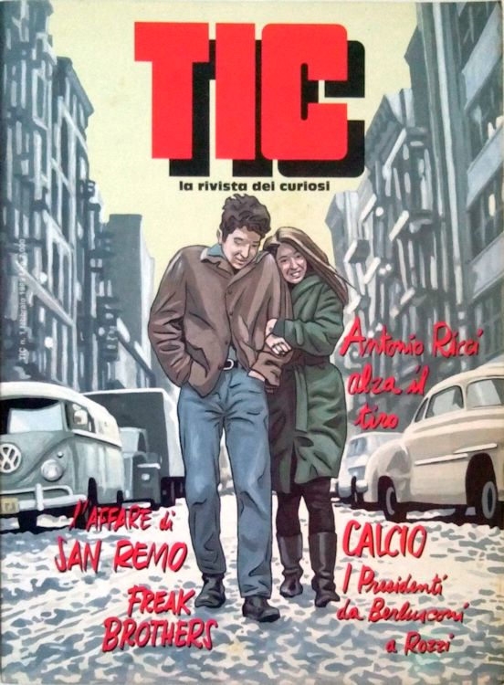 tic italy magazine Bob Dylan cover story