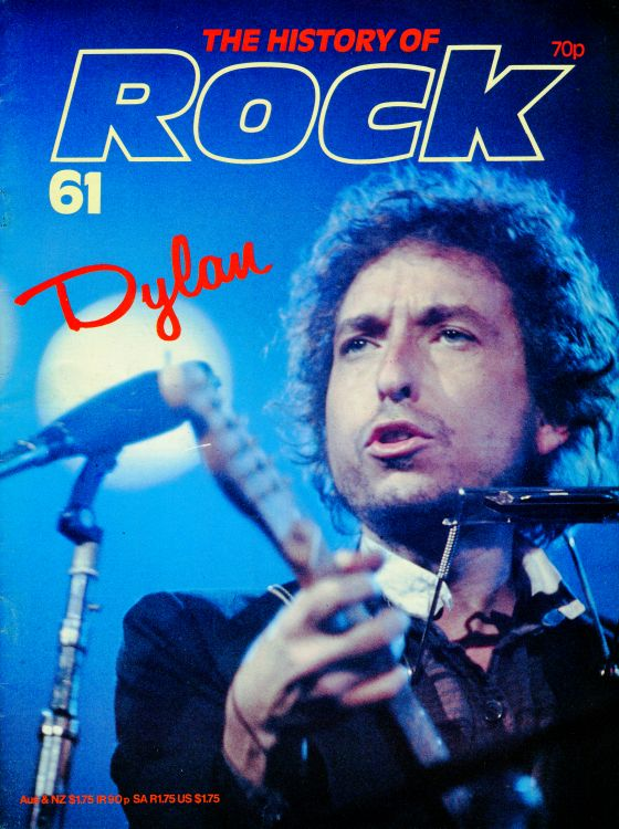 the history of rock #61 UK magazine Bob Dylan cover story