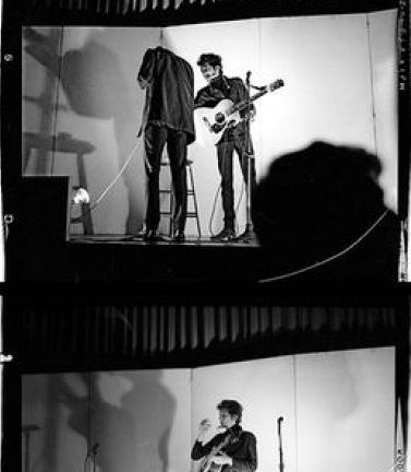 November 1964 Kenyon College bob dylan photo