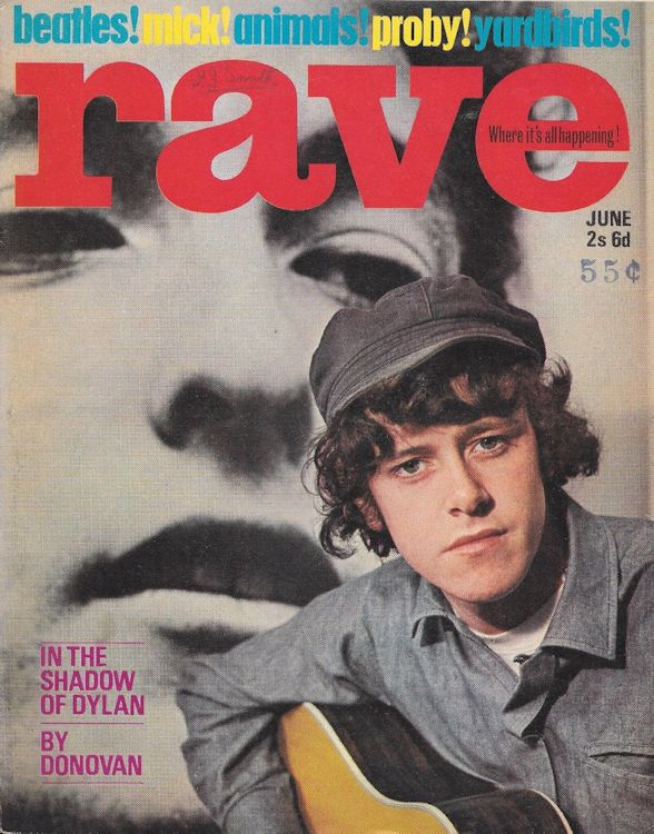 rave 30 June 1965 magazine Bob Dylan cover story