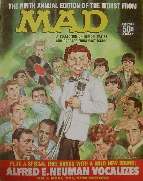 Mad magazine 1966 Bob Dylan cover story