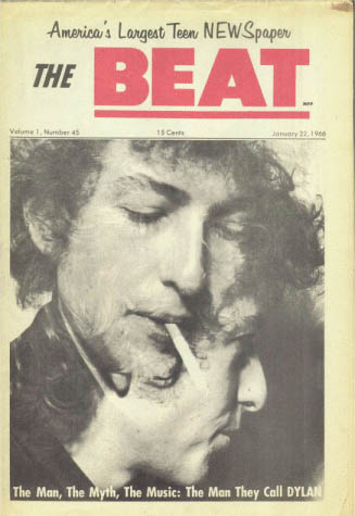 the beat 1966 01 22  magazine Bob Dylan cover story